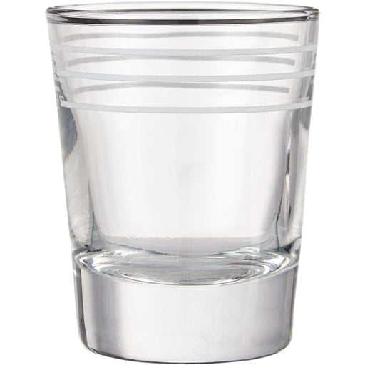 2oz Lined Whiskey Shot Glass