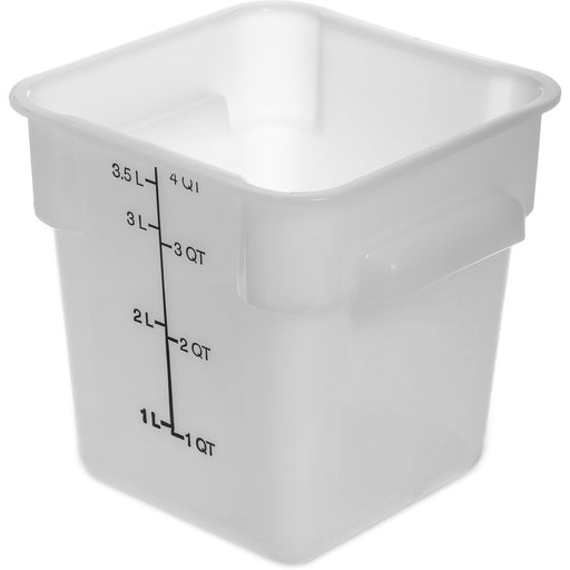 4 QT Square Container