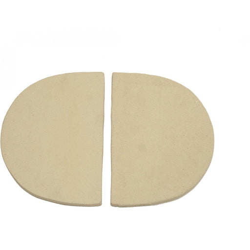 Ceramic Heat Deflector Plates For Oval JR200 Set of 2