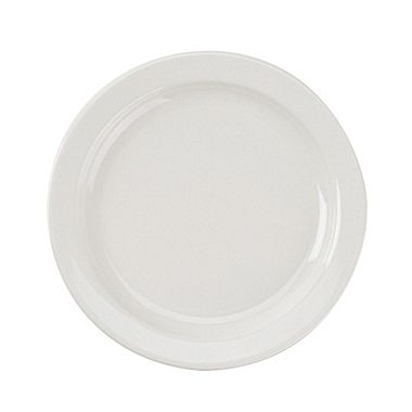 "Porcelana Narrow Rim 10-3/8"" Plate"