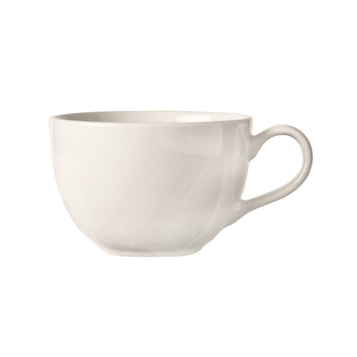 Basics Bright White 11.5 Oz. Cappuccino Low Cup