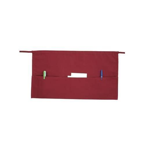 Three Pocket Waist Apron - Burgundy