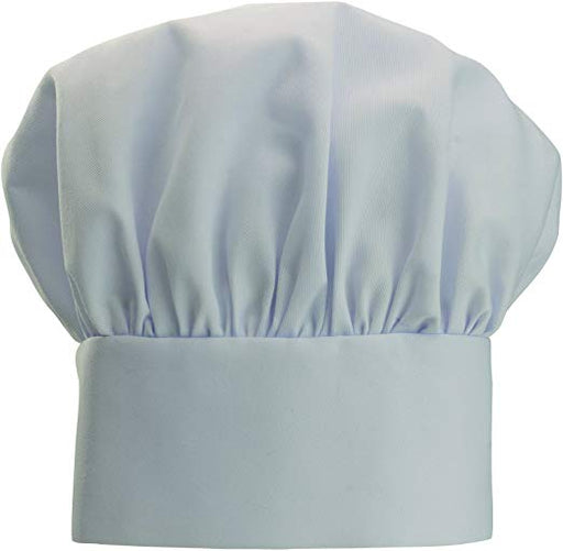 White Pleated Chef Hat