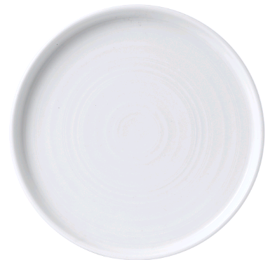 "Chef Plate 8.25"" Round, Walled"