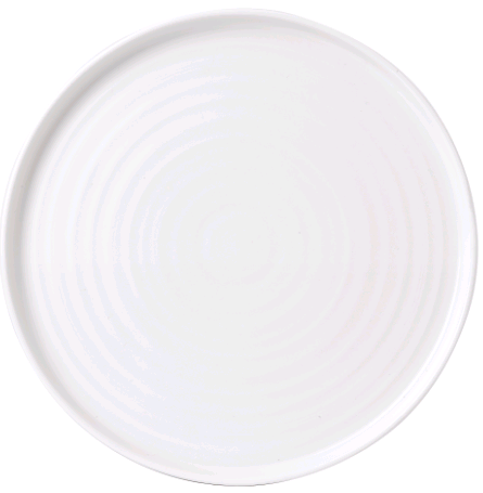 "Chef Plate 10 2/8"" Round Walled"