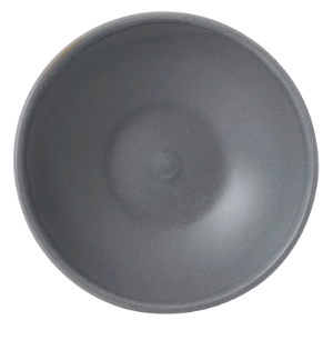 Bowl 9oz Round Shallow Bowl - Seattle Grey