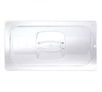 1/3 Size Clear Solid Cold Food Pan Cover