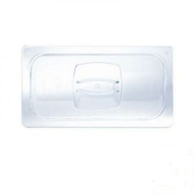 1/4 Size Clear Solid Cold Food Pan