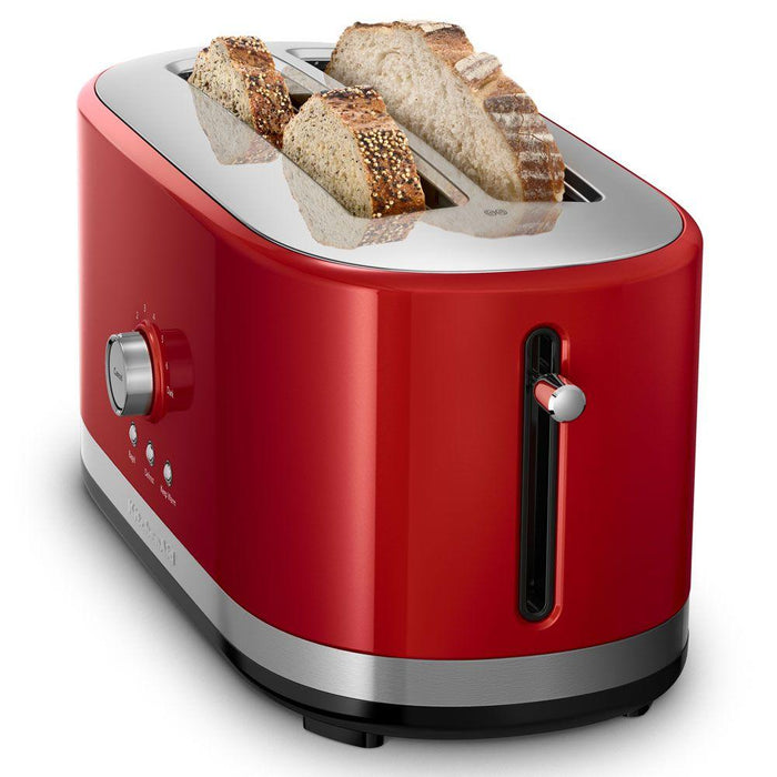 Empire Red Long Slot Toaster