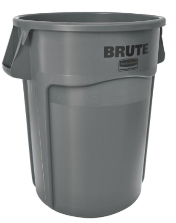 44gal Gray BRUTE¨ Round Containers