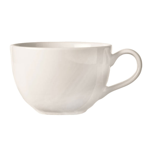 Basics Bright White 7.5 Oz. Cappuccino Low Cup