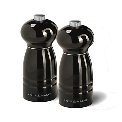 "4.75"" Black Salt & Pepper Mill Set"