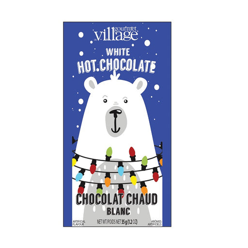 Retro Polar Bear White Hot Chocolate