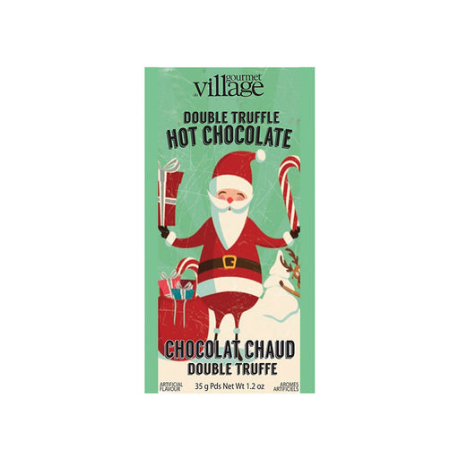 Retro Santa Double Chocolate Truffle Hot Chocolate