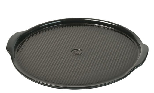Emile Henry PEPPER Pizza Stone 14.6""