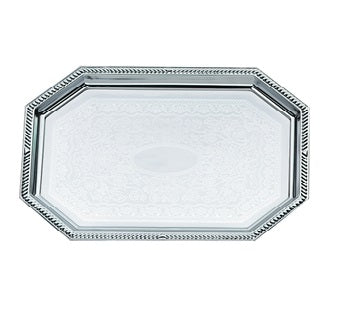 "20"" x 13.75"" Large Octagon Tray"