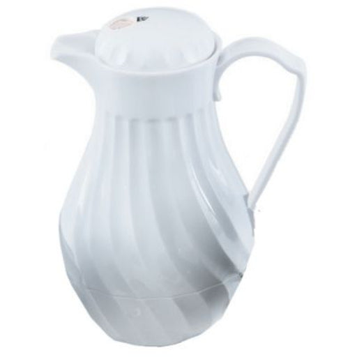 64 oz White Tilt & Pour¨ Beverage Server