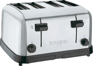 Four Slice Commercial Toaster - 120V, 1500W