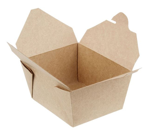 Take Out Food Containers Microwaveable Kraft Brown Take Out Boxes 26 oz (450 Pack) Leak and Grease Resistant Food Containers - Recyclable Lunch Box - To Go Containers for Restaurant, Catering and Party COP901-D