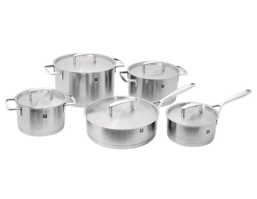 Zwilling J.A. Henckels Passion 10 pc Cookware Set 18/10 Stainless Steel - 66070-002