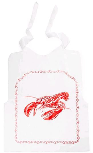 Fox Run Disposabe Lobster Bib 5957 set of  4