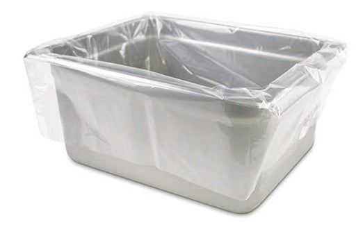 "PanSaver Clear 42636 Deep Ovenable Pan Disposable Liner Fits 1/2 size Pans up to 4""-6"""