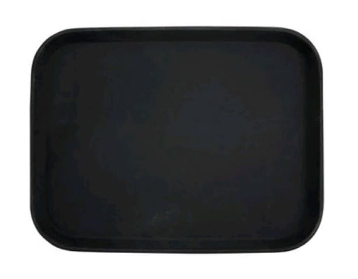 "Winco 14"" x 18"" Black blk Rubber Linned Tray TRH-1418K"