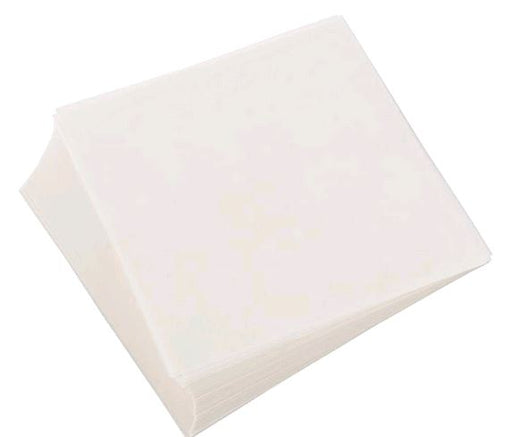 190001 Pre-Cut Square Food Patty Paper Liner, with Box White 1000 carton