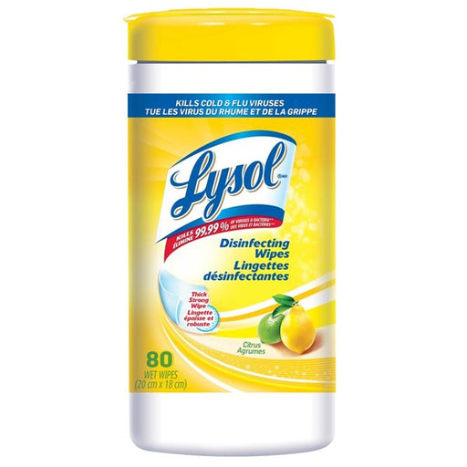 Lysol Disinfecting Wipes 80ct Tub Citrus, 3wks until arrival