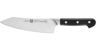 "Zwilling J.A. Henckels Pro 7"" Rocking Santoku Knife 180mm - 38417-181"