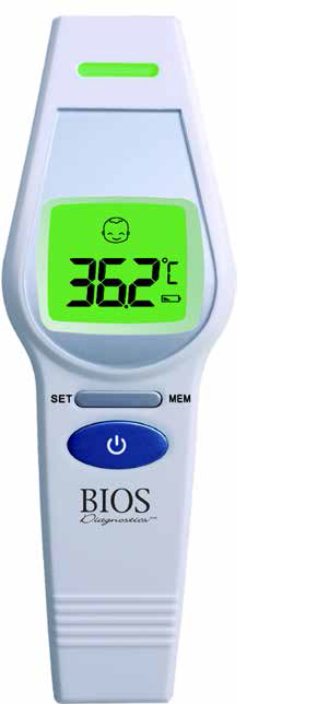 Non-Contact Forehead Thermometer - BIOS