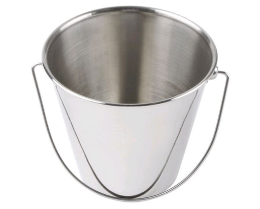 "American Metalcraft SSP43 Mini Stainless Steel Pail - 5"" x 4 5/8""*"