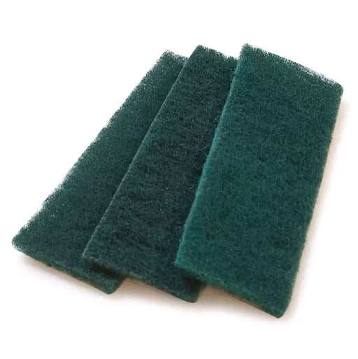 "Carlisle 4072908 Meat Slicer Scrub Pad - 4 1/2x1 5/8"" Single Use, Synthetic, Green*"