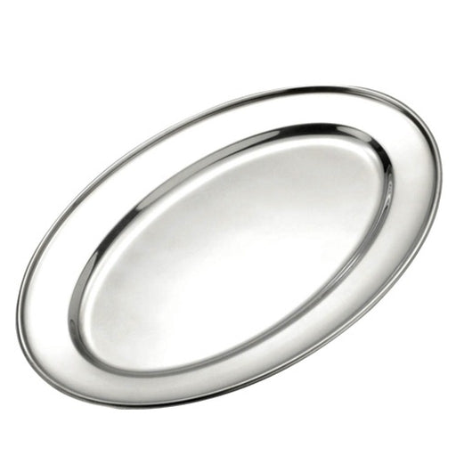 Browne® Stainless Steel Oval Platter (1 Each)