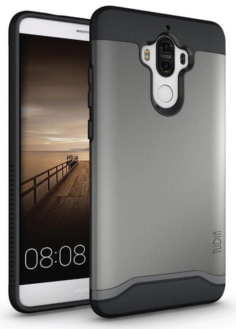 TUDIA Slim-Fit HEAVY DUTY [MERGE] EXTREME Protection / Rugged but Slim Dual Layer Case for Huawei Mate 9