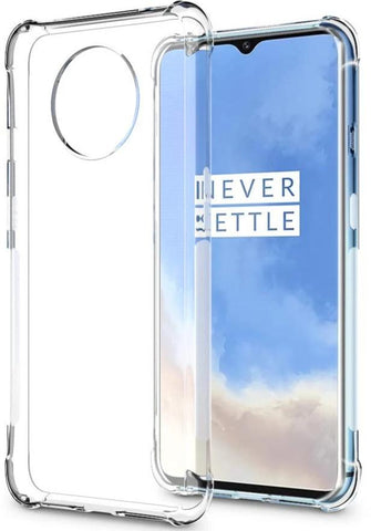 Corner Shield Clear TPU Case for OnePlus 7T