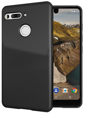 TUDIA Lightweight Minimalist [SKN] TPU Bumper Shock Absorption Cover for Essential Phone PH-1