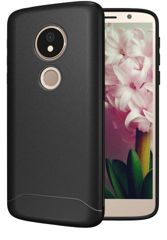 TUDIA Full-Matte Lightweight [ARCH S] TPU Bumper Shock Absorption Cover for Motorola Moto G6 Play