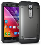 Tough OMNIX [Heavy Duty] Hybrid Full-body Protective Case with Front Cover and Built-in Screen Protector for ASUS ZenFone 2 ZE550ML/ZE551ML (Not Compatible with ZE500CL)