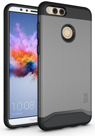TUDIA Slim-Fit HEAVY DUTY [MERGE] EXTREME Protection / Rugged but Slim Dual Layer Case for Huawei Honor 7X