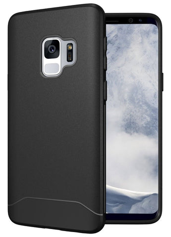 TUDIA Full-Matte Lightweight [ARCH S] TPU Bumper Shock Absorption Cover for Samsung Galaxy S9