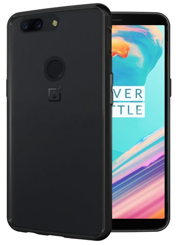 TUDIA Scratch Resistant LUCION Lightweight Hybrid Matte Back Panel Protective Cover for the OnePlus 5T (2017 Version)