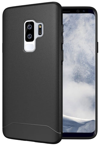 TUDIA Full-Matte Lightweight [ARCH S] TPU Bumper Shock Absorption Cover for Samsung Galaxy S9 Plus / S9+