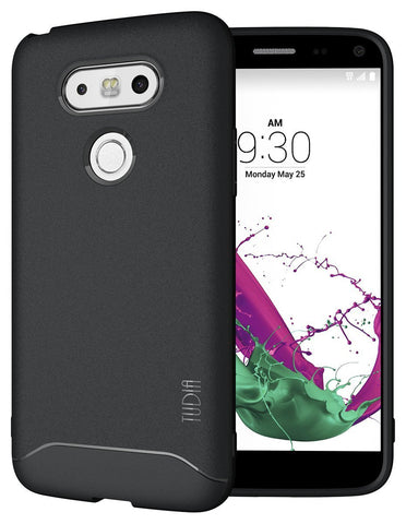 TUDIA Ultra Slim Full-Matte ARCH TPU Bumper Protective Case for LG G5