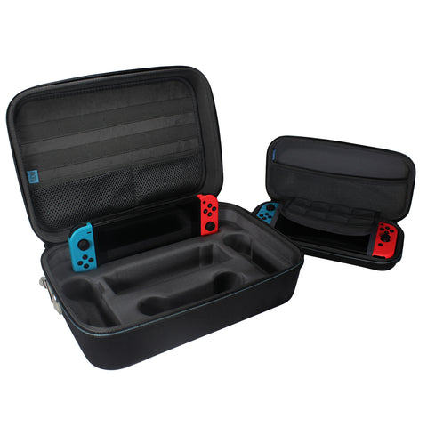 EVA Storage Carrying Case Bundle - Nintendo Switch