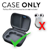 EVA Storage Carrying Case Compatible With NuFACE Mini Petite Facial Toning Device