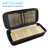 EVA Storage Carrying Case for Jenga Blocks / Stacking Building Blocks