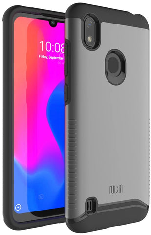 Heavy Duty Dual Layer MERGE Case for Visible ZTE Blade A7 Prime