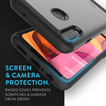 Heavy Duty Dual Layer MERGE Case for Samsung Galaxy A20s