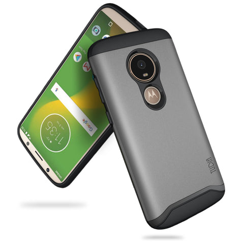 Heavy Duty Dual Layer MERGE Motorola Moto E5 Play / Moto E5 Go Case